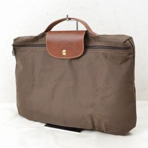 China Longchamp Tote Bag Made in France Browns Nylon on sale