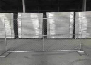 China Wholesale 6'*12' temporary perimeter security chain link fence for sale on sale