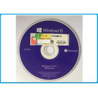 Genuine Microsoft Windows 10 Pro Software OEM  Box 64 Bit DVD / COA License Key