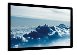 China Indoor Wall Mount Touch Screen Lcd Advertising Display With IR Multipoint Touch on sale