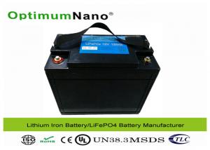 China Lithium Iron Phosphate Deep Cycle Battery , Safe 12V 100Ah Deep Cycle Battery Pack on sale