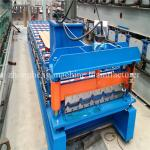 Custom Galvanized Standing Seam Roofing Sheet Roll Forming Machine