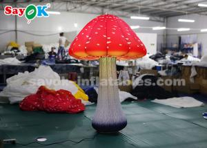 China 2m 16-Color LED Light  mushroom inflatable lighting decoration for advertising on sale