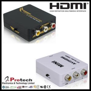 China AV 3RCA CVBS Composit to HDMI Video Converter PETCH on sale