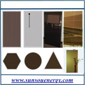 China Amorphous silicon solar panel / high eff. thin film solar panel 50w to 110w in stock for hot sale on sale