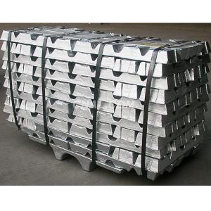 China Cas 7440-66-6 Zinc Ingot / Powder 420ºC Melting Point For Anti Corrosive Area on sale