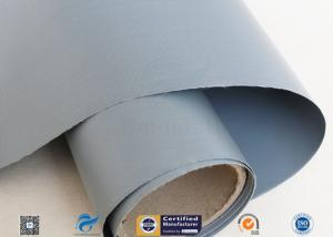China 7628 0.25mm PVC Coated Fiberglass Cloth For Flexible Air Fabric Ducting on sale