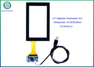 China USB Interface Multi - touch Capacitive Touch Screen For Handheld Touch Device 5.5 on sale