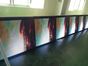 China Sports Perimeter Led Display for football games , basketball sceen with soft mask on sale