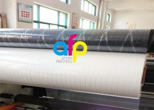 China Transparent Holographic Bopp Lamination Film 26micron Standard / Customized Pattern on sale