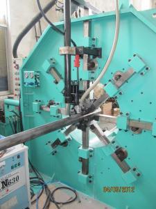 China Automatic 340 / 14000mm Light Pole Shut-Welding Machine , Tube welding machine on sale