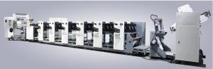 China Automatic Flexo Printing Machine with Servo Motor gloss lamination roll label printing machine supplier