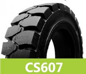 China solid forklift truck tires on sale