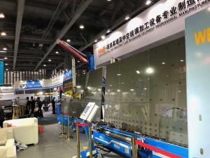 China LBW2000PB Double And Triple Glass Processing Machine Glass Window Line Making on sale
