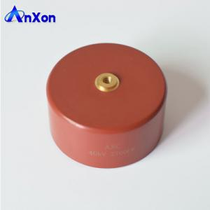 China X-ray power supply ceramic capacitor 40KV 2700PF 40KV 272 accelerator ceramic capacitor on sale
