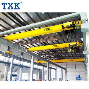 China Top Running 3t 5t 10 Ton Overhead Crane With Power Supply System And Hoist on sale