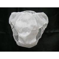 Printed Pattern Disposable Cotton Underwear Mens Disposable Pants