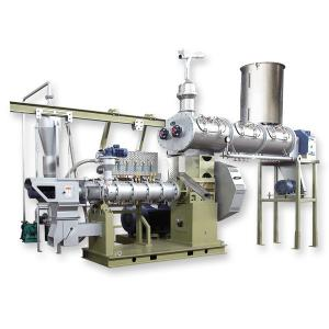 China Raw material and single-screw feed extruder with high performance conditioner on sale