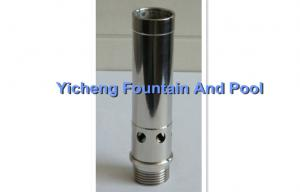 China Brass / Stainless Steel Foam Water Fountain Nozzles Without Arms / Pipes on sale