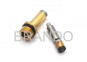 China 13mm Diameter Brass Tube Solenoid Stem For 12V DC / 24V DC CNG Cylinder Valve on sale