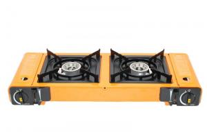 China Double Burner Portable Gas Stove on sale