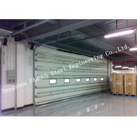 Vertically Opening Transparent Industrial Garage Doors With Flexible Curtain Shutter Doors