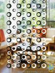 CU66 Crystal Modern Wholesale Fabric Curtain