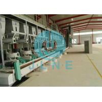 Ring Die Rice Husk Wood Pellet Production Line / Wood Pellet Making Equipment