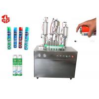 Auto Aerosol Cans Filling Machines For Pesticide Insecticide, Aerosol Spray Filling Machines