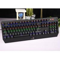 OEM / ODM Accepted RGB Mechanical Keyboard Light Up Humanized Design KG900