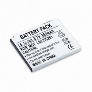 China batterie de Li-ion pour Motorola L6 on sale