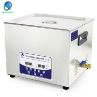 China 15L Fast Clean Oil Ultrasonic Cleaning Services , Ultrasonic Washer For Carburettor on sale