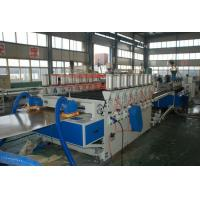 Aeroplane WPC Board Production Line , Double Screw Extruder Machine