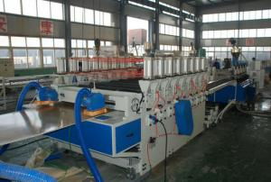 China 1220*2440*30mm Profile WPC Extrusion Line , Emboss Machine on sale