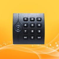 China IP65 KR202E Keyboard RFID Card Reader , Smart Card Access Reader 86*86*16.3MM on sale