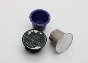 China 1.2mm Thickness Coffee Pod Capsules For Filling Coffee Uji Matcha Green Tea Latte on sale