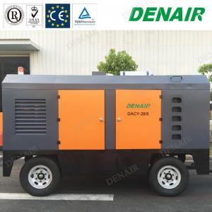 China 1250cfm 30bar Diesel Mobile Portable Screw Air Compressor for Mining on sale