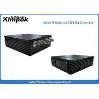 Car Portable COFDM Receiver Small Wireless Video Receiver 300MHz-900MHz