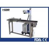 Online Flying Laser Marking Machine , Co2 Color Laser Engraving Machine