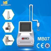 China co2 fractional laser skin rejuvenation & wrinkle removal machine with rf tube on sale
