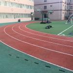 Corrosion?Resistance Synthetic Rubber Flooring For Sports Court / Public Court