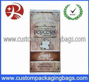 China Oil Proof Laminated Plastic Food Packaging Bags , Popcorn Compound Food Bag on sale