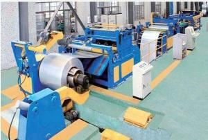 China Stainless Steel / Flat Bar Slitting Line Machine Galvanized Rolled Steel Flat Bar Chamfering on sale