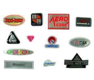 China Trademark Logo Type Reflective Fabric Cloth Various Shape EN471 Standard on sale