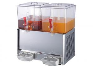 China Commercial Double Tanks Cold Juice Dispenser / Beverage Dispenser Machine on sale