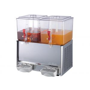 China Commercial Double Tanks Cold Juice Dispenser / Beverage Dispenser Machine on sale
