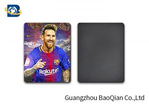 China 3D Fridge Lenticular Magnet Football Star Lionel Andres Messi Printed Pattern on sale
