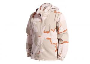 China 3 Color Desert Men Tactical Military Winter Fleece Hooded Outdoor Jacket For Camouflage on sale