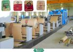 Five Shafted Paper Reel Racks / Paper Tube Making Machine with Auto Rectifiction Servo System