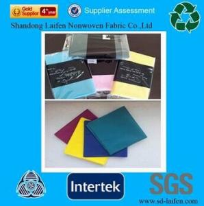 China PP Spunbond Nonwoven Fabric Napkins Table Cloth on sale